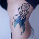 Фото татуировок на боку. Эскизы тату на теле.