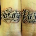 Фото татуировок на запястье. Эскизы надписей тату на запястье.