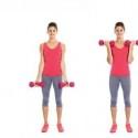 Упражнения для женщин для области рук