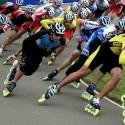 Велосипед и роликовые коньки для летнего времени